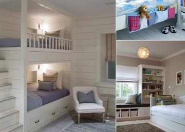 10 Clever Ways to Store More in a Small Kids' Room fi