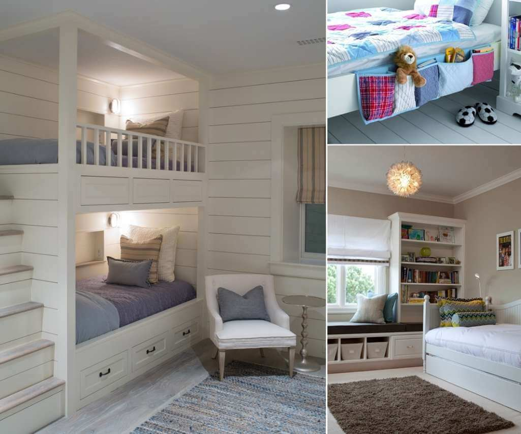 10 clever ways to store more in a small kids 39 room for Kids room store