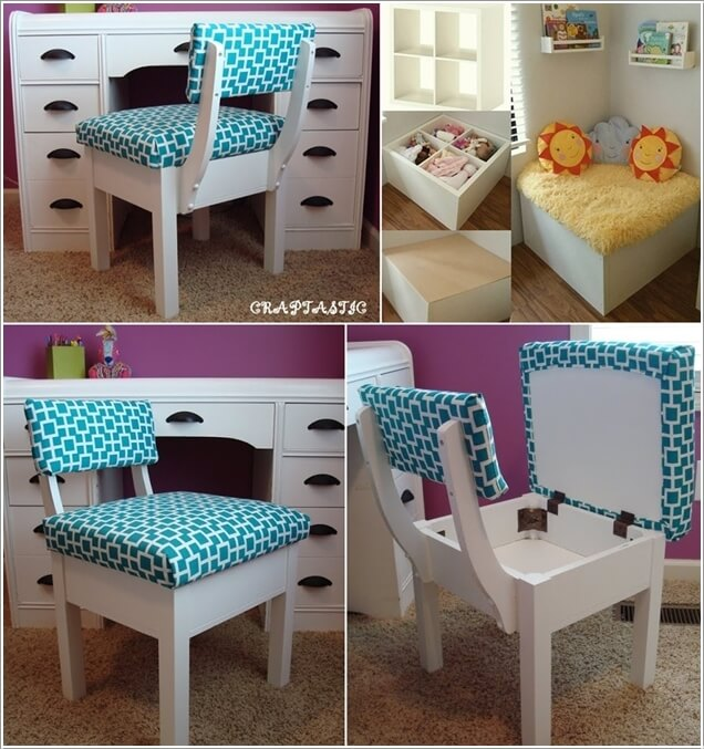 10 Clever Ways to Store More in a Small Kids' Room 5