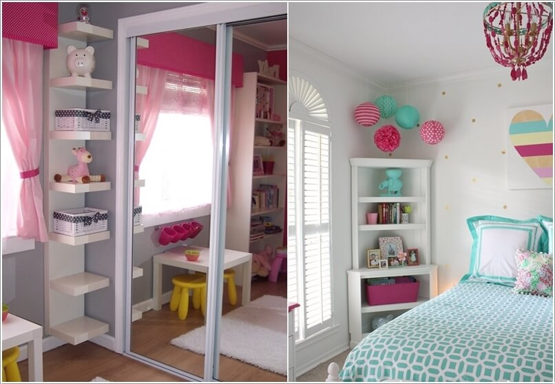 Small Kids Room 10 clever ways to store more in a small kids' room