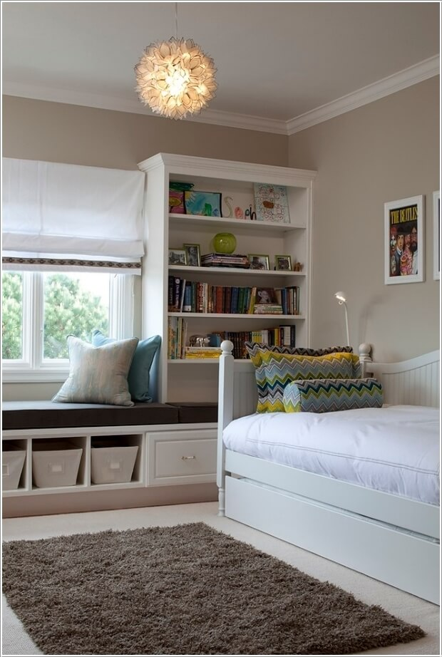 10 Clever Ways to Store More in a Small Kids' Room 1