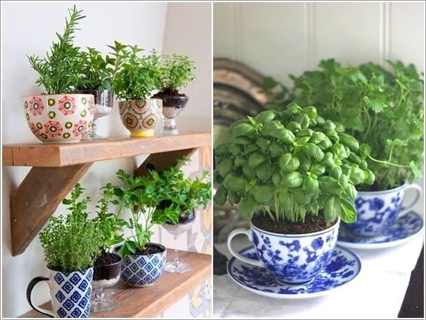 12 Cool Small Herb Gardens That Won't Take Much Space 4