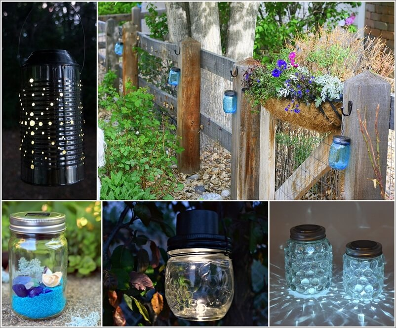 13 fabulous one dollar solar light crafts