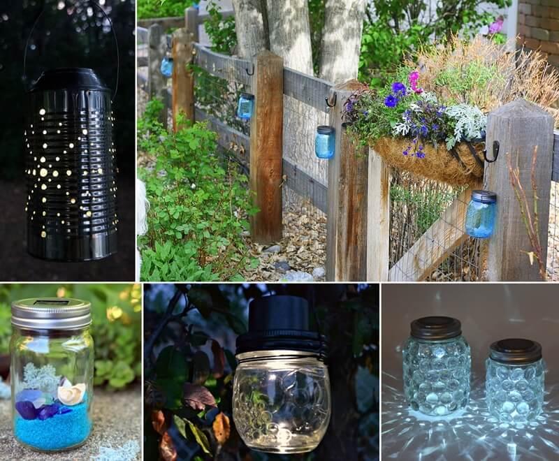 13 Fabulous One Dollar Solar Light Crafts
