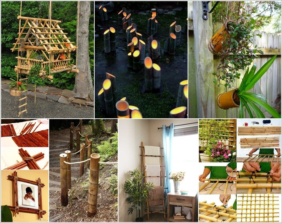 21 DIY Bamboo Projects to Beautify Your Home 1