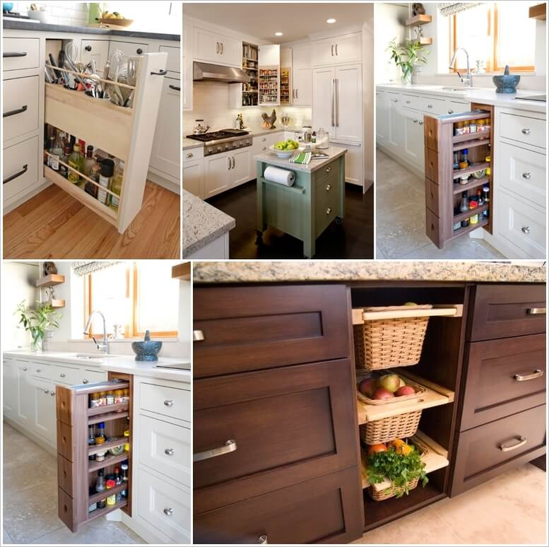 99 Clever Ideas You Can Steal for Your Small Kitchen 1