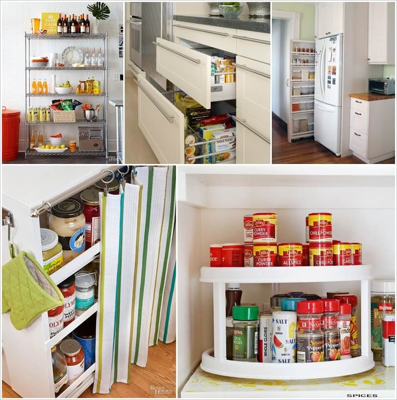 Clever Solutions for a Pantry-Less Kitchen 1