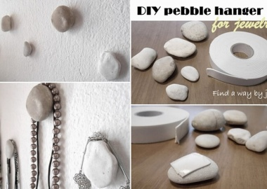 This Pebble Necklace Holder is So Easy to Make fi
