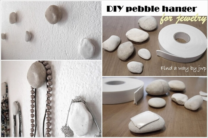 This Pebble Necklace Holder is So Easy to Make 1
