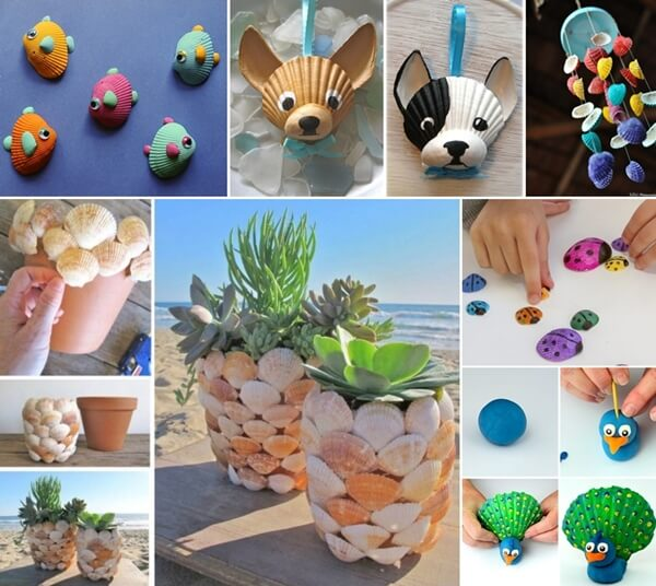 Art Crafts For Kids Using Old Items