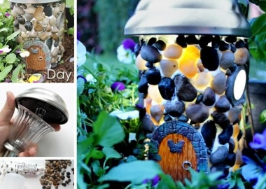 This Solar Powered Fairy House is Truly Stunning fi