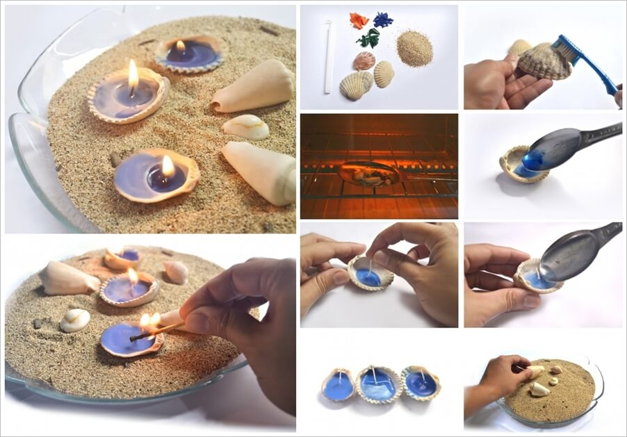 These Shell Tealights are Simply Lovely 1