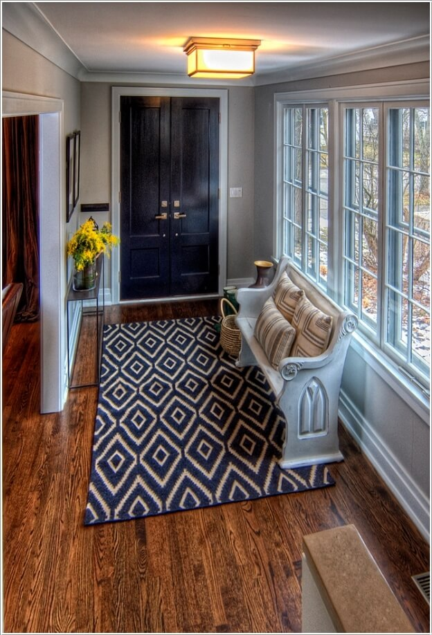 Foyer With Seating : Chic seating options for creating a welcoming entryway
