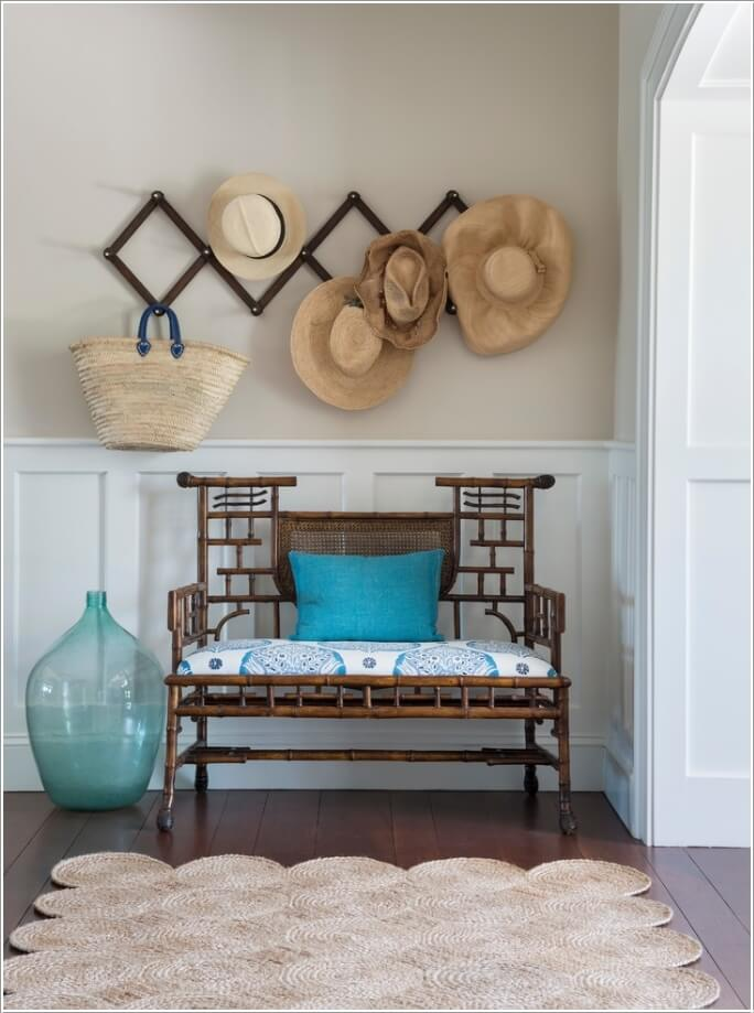 10 Chic Seating Options for Creating a Welcoming Entryway 7