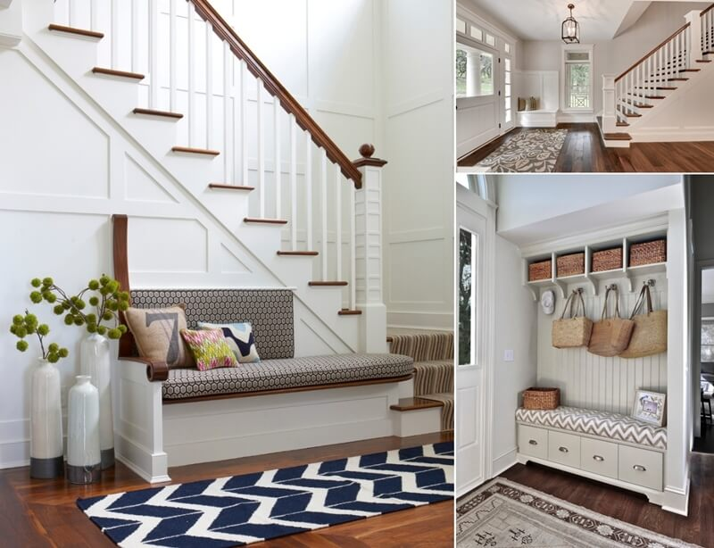 Foyer Seating Area Ideas : Foyer design seating home ideen