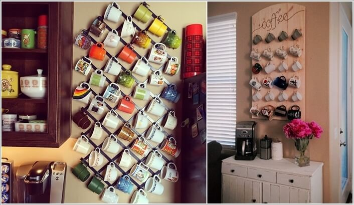 10 Cool Coffee Mug Storage Ideas For Your Coffee Station 3