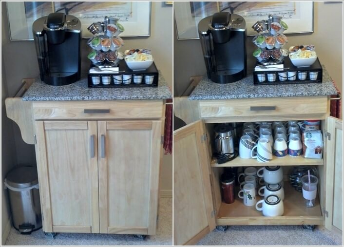 10 Cool Coffee Mug Storage Ideas For Your Coffee Station