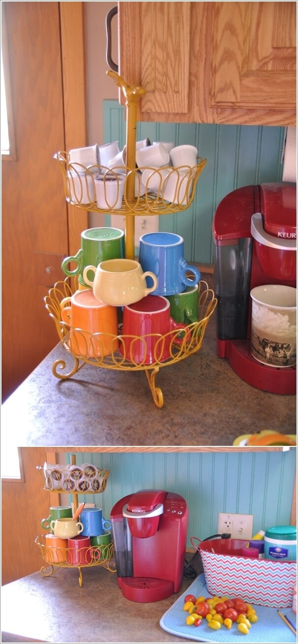 10 Cool Coffee Mug Storage Ideas for Your Coffee Station 5