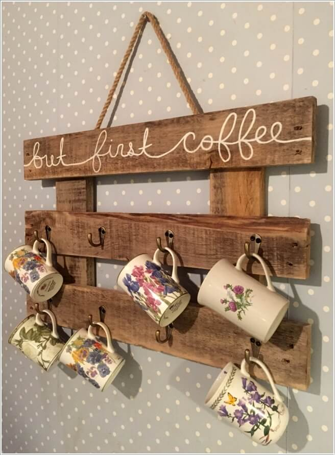 10 Cool Coffee Mug Storage Ideas for Your Coffee Station 6