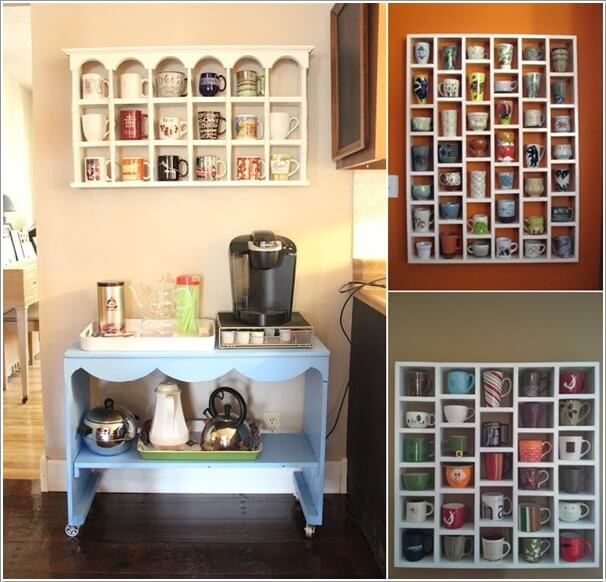 10 Cool Coffee Mug Storage Ideas For Your Coffee Station 8