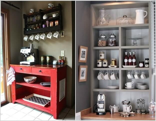 Marvelous 10 Cool Coffee Mug Storage Ideas For Your Coffee Station 1