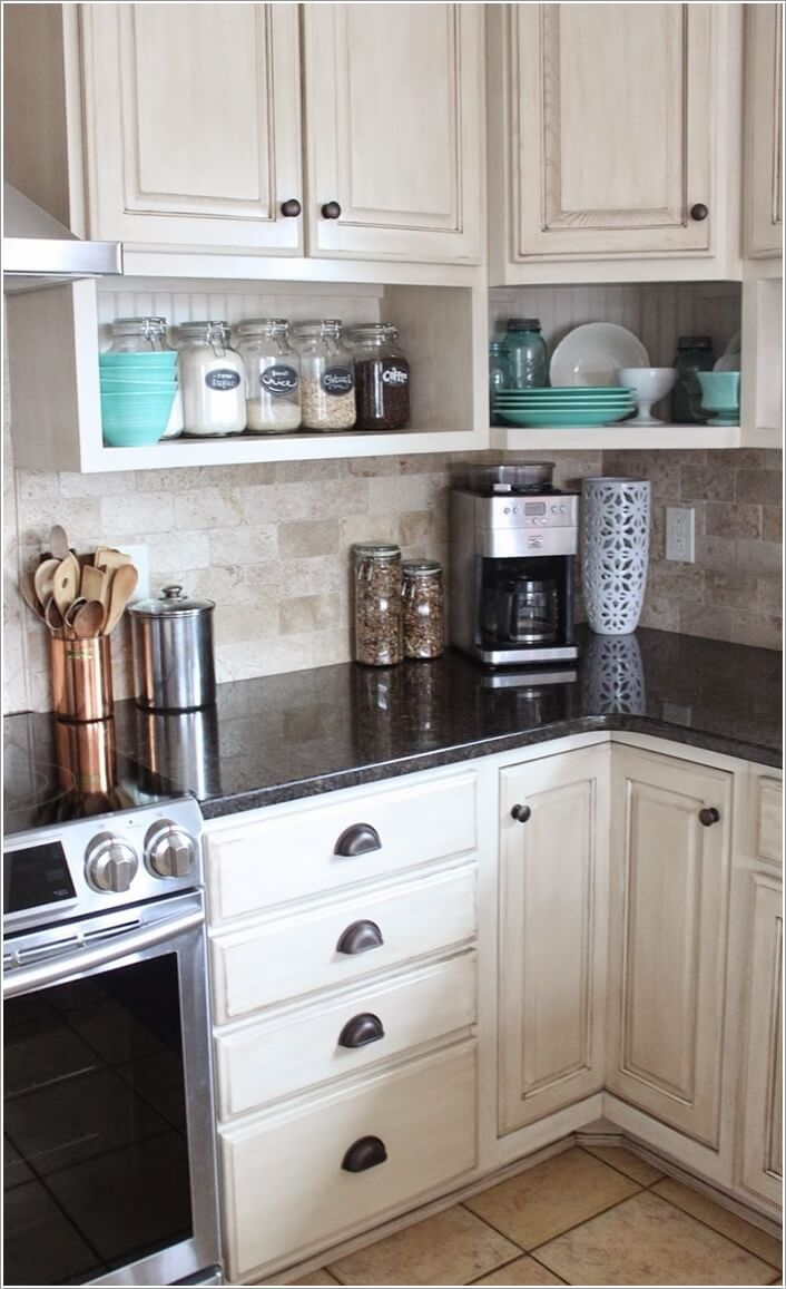 10 cool and creative diy projects for your kitchen Kitchen under cabinet storage ideas