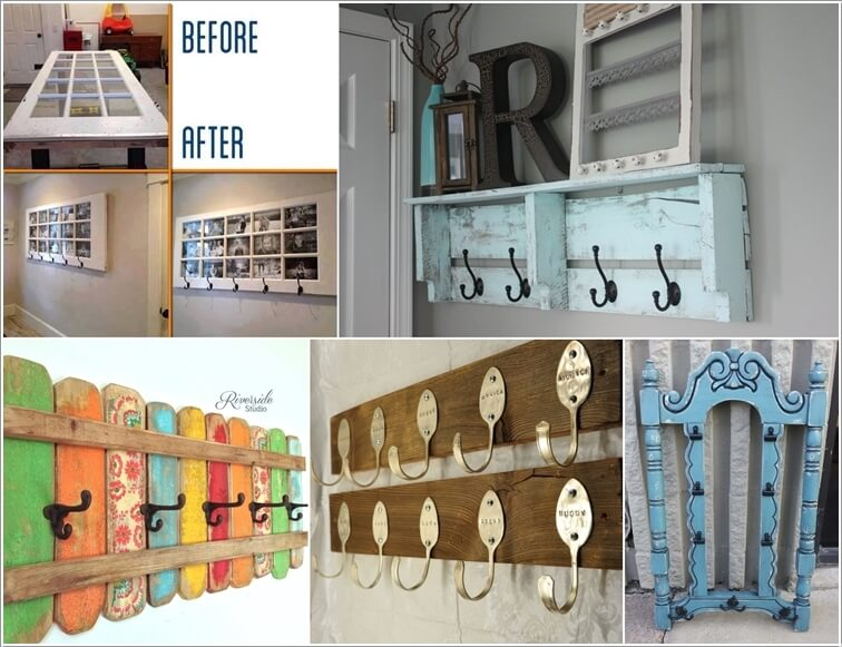 40 Cool DIY Coat Rack Ideas From Repurposed Materials Delectable Diy Coat Rack Ideas