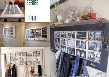 10 Cool DIY Coat Rack Ideas from Re-purposed Materials fi
