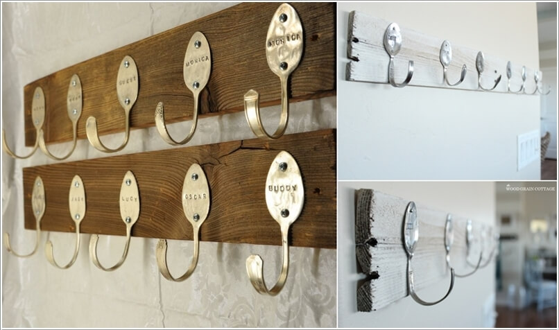 10 Cool DIY Coat Rack Ideas from Re-purposed Materials 10