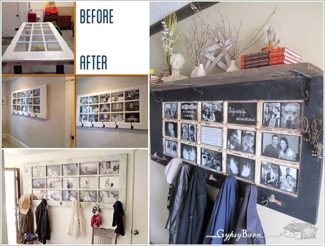 10 Cool DIY Coat Rack Ideas from Re-purposed Materials 1