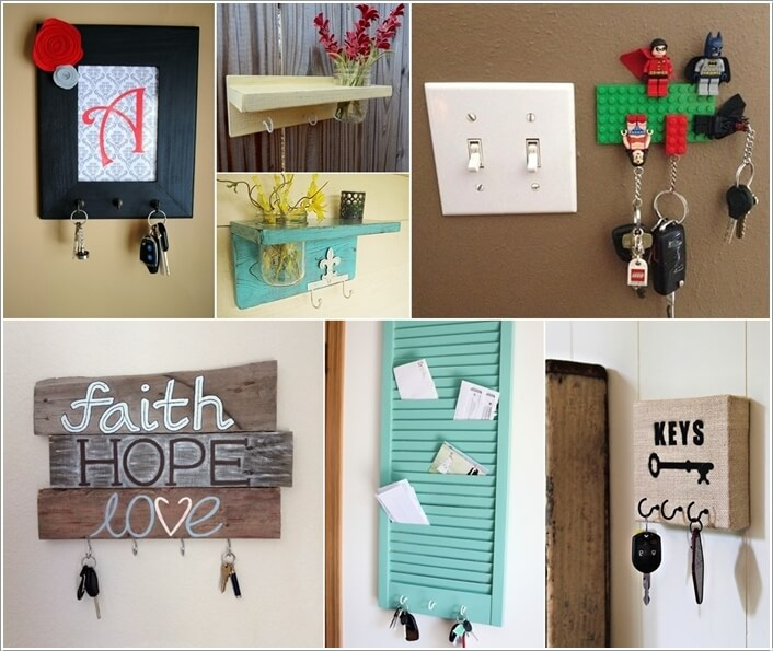 10 Cool DIY Key Holders You Would Want to Try a