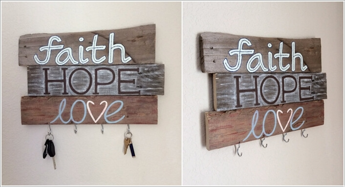 10 Cool DIY Key Holders You Would Want to Try 3