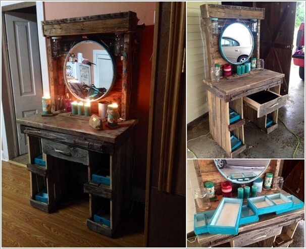 10 Cool Diy Makeup Vanity Table Ideas 3