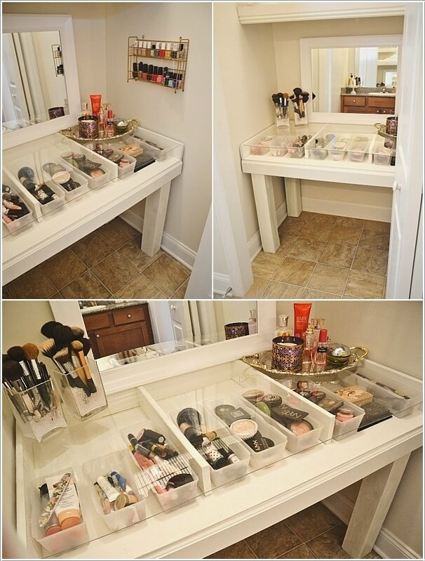 Incroyable 10 Cool DIY Makeup Vanity Table Ideas 6
