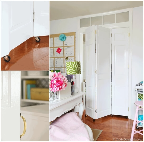 how to make your own room divider