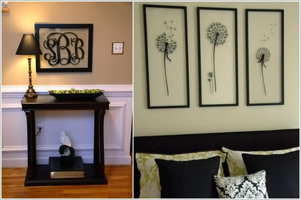 10 Creative Ways to Decorate with Dollar Store Picture Frames 6