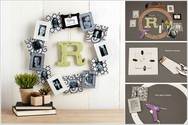 10 Creative Ways to Decorate with Dollar Store Picture Frames 10