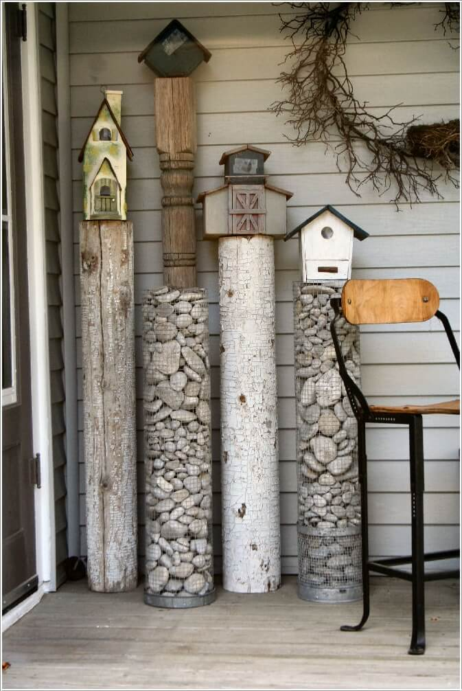 10 Cute and Cool Birdhouse Inspired Home Decor Ideas 3