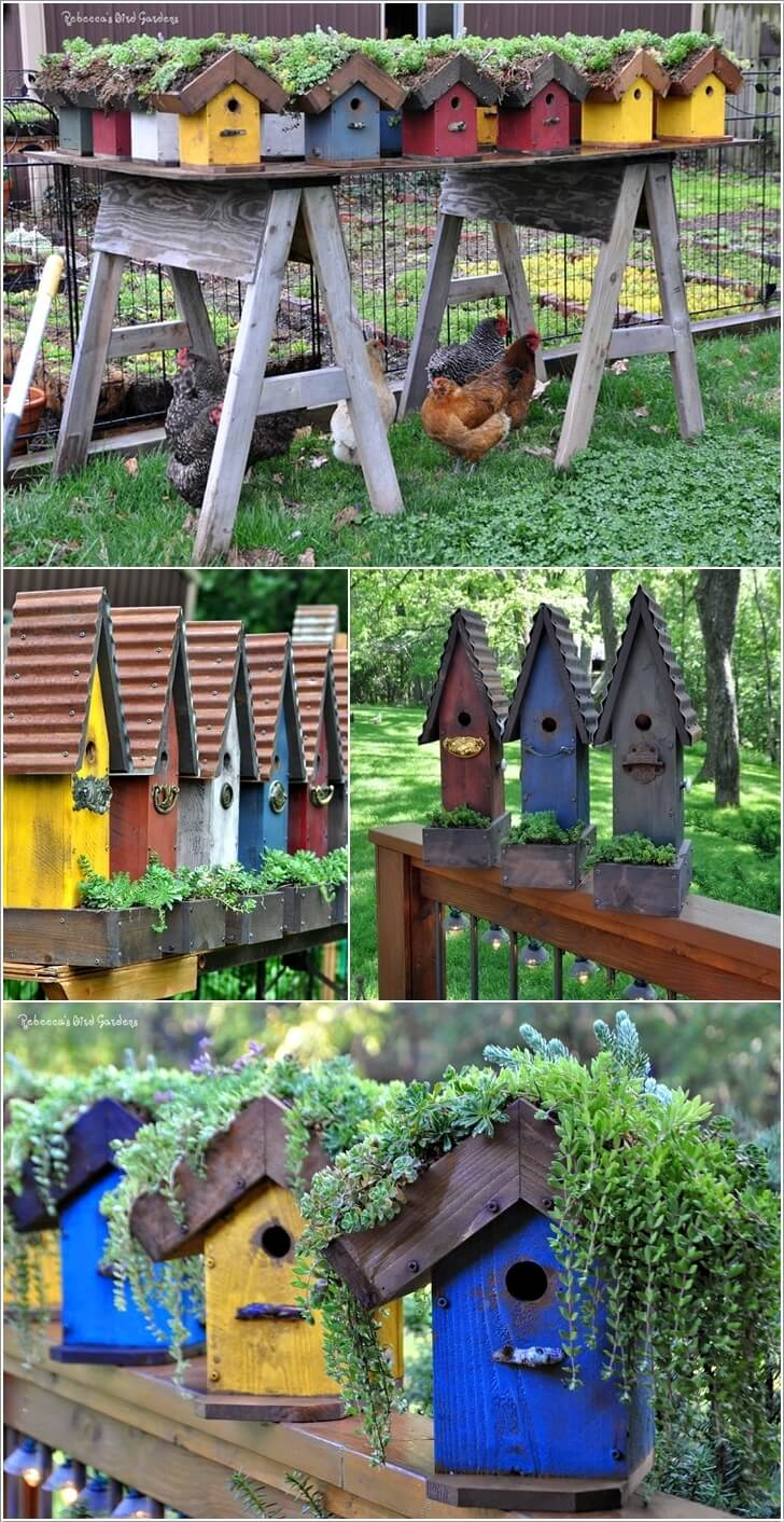10 Cute and Cool Birdhouse Inspired Home Decor Ideas 9