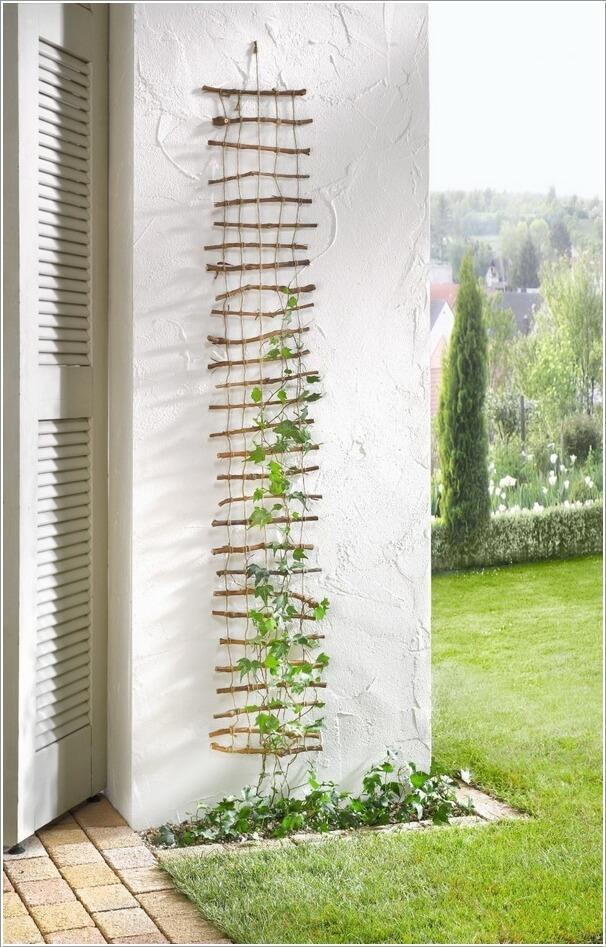 10 Easy Yet Beautiful DIY Garden Trellis Projects 1