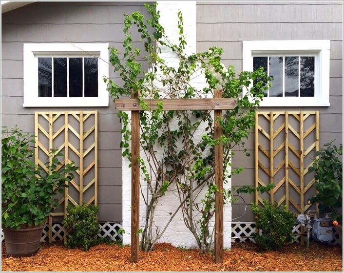 10 easy yet beautiful diy garden trellis projects