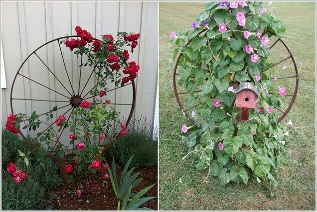 10 Easy Yet Beautiful DIY Garden Trellis Projects 3