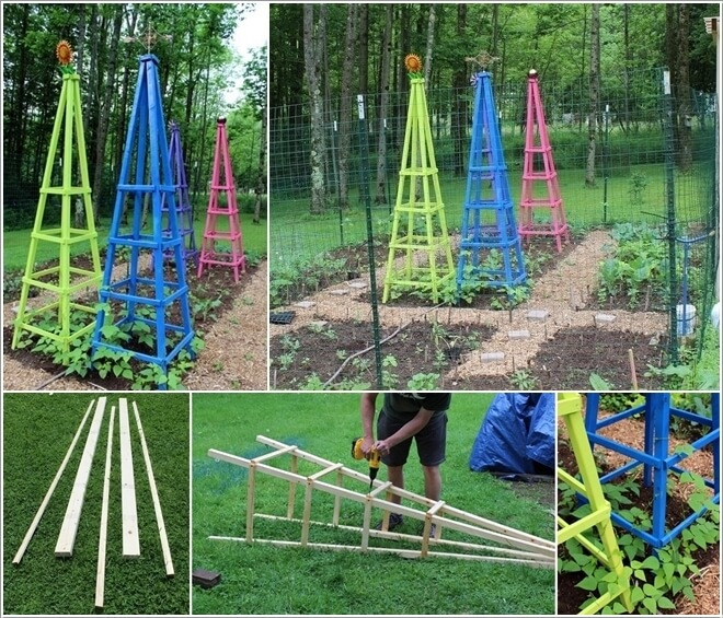 Elegant 10 Easy Yet Beautiful DIY Garden Trellis Projects 4