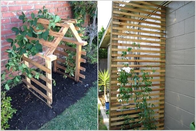 10 Easy Yet Beautiful DIY Garden Trellis Projects 5
