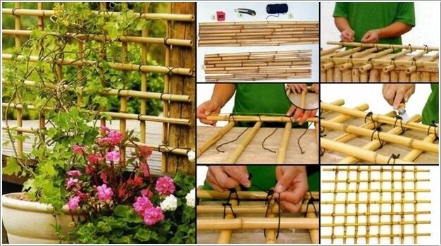 10 Easy Yet Beautiful DIY Garden Trellis Projects 6