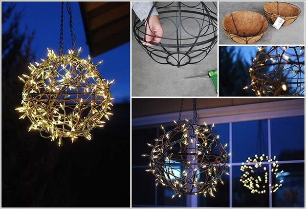 10 Magical Outdoor Decor Projects with Fairy Lights 2