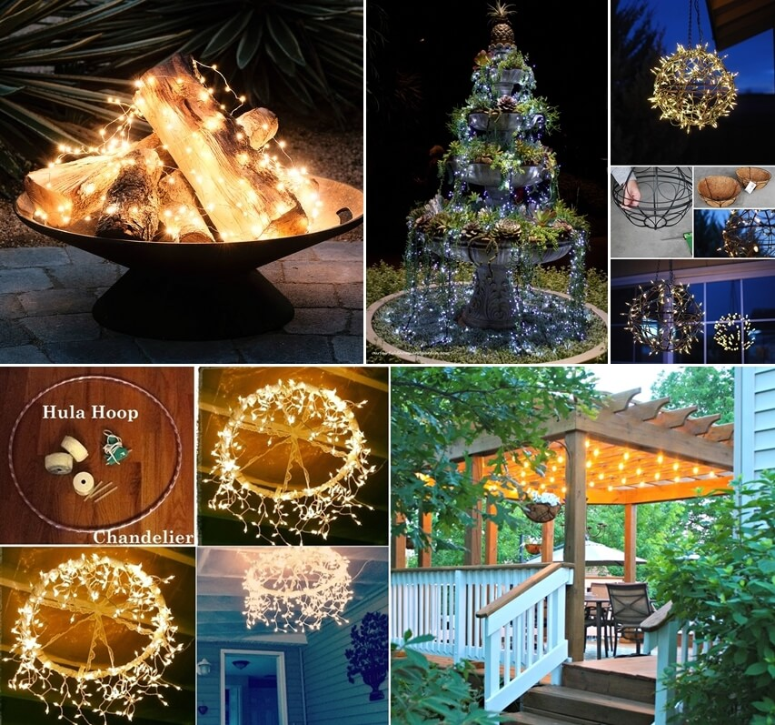 10 Magical Outdoor Decor Projects With Fairy Lights