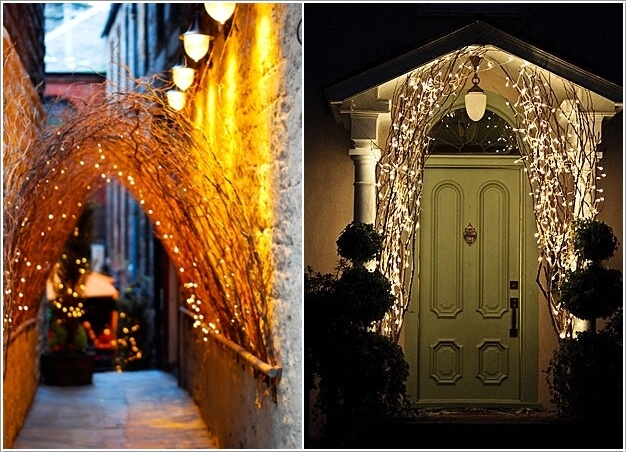 10 Magical Outdoor Decor Projects with Fairy Lights 3