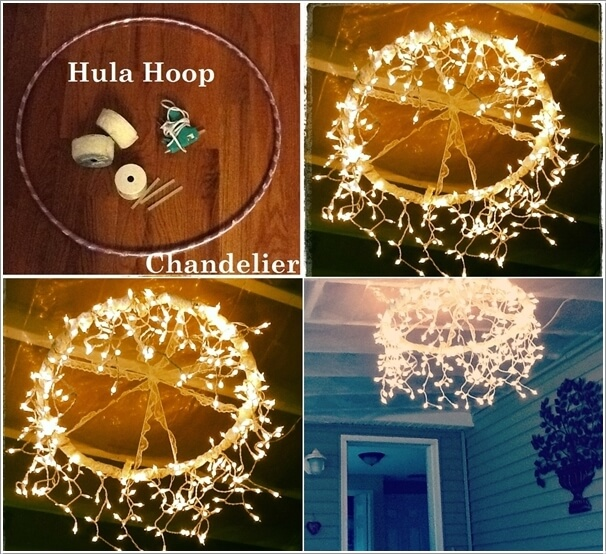 10 Magical Outdoor Decor Projects with Fairy Lights 8
