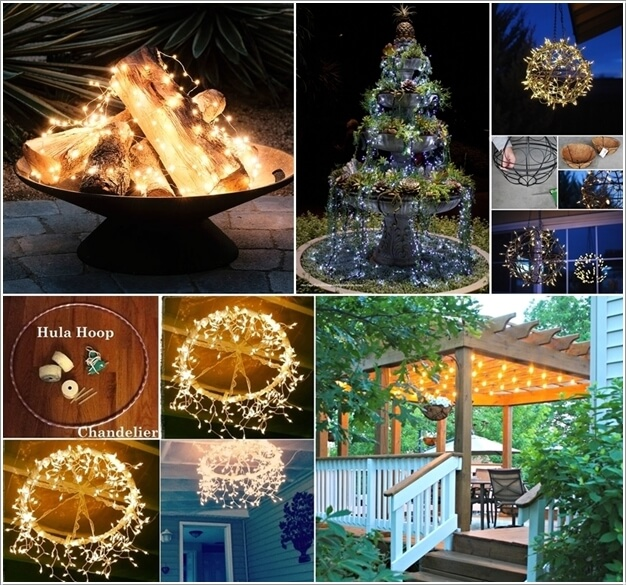 10 Magical Outdoor Decor Projects with Fairy Lights a
